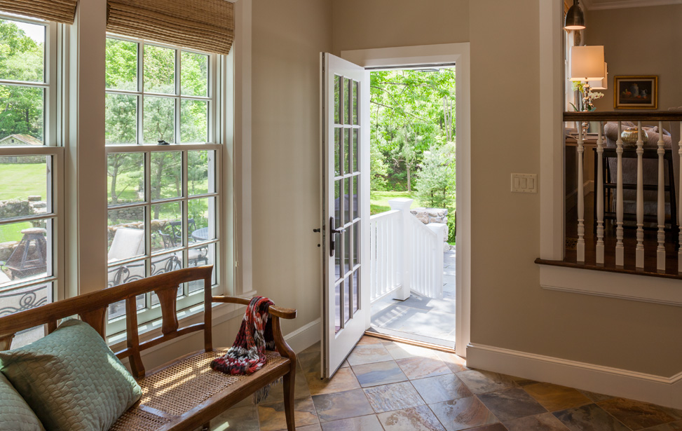 House addition and remodeling in boston m f reynolds inc for Mudroom additions