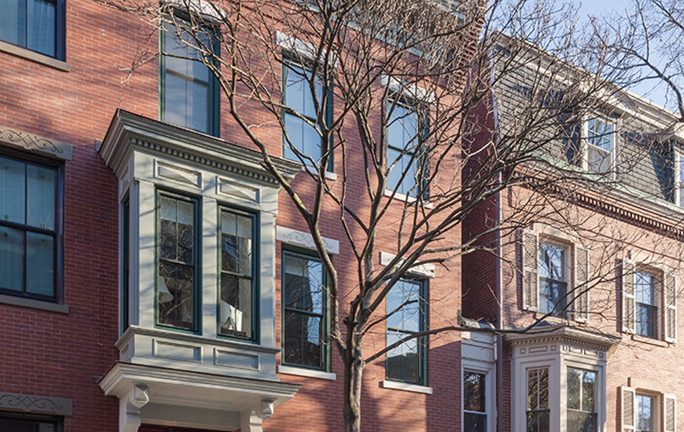 MF Reynolds Charlestown townhouse restored inside and out