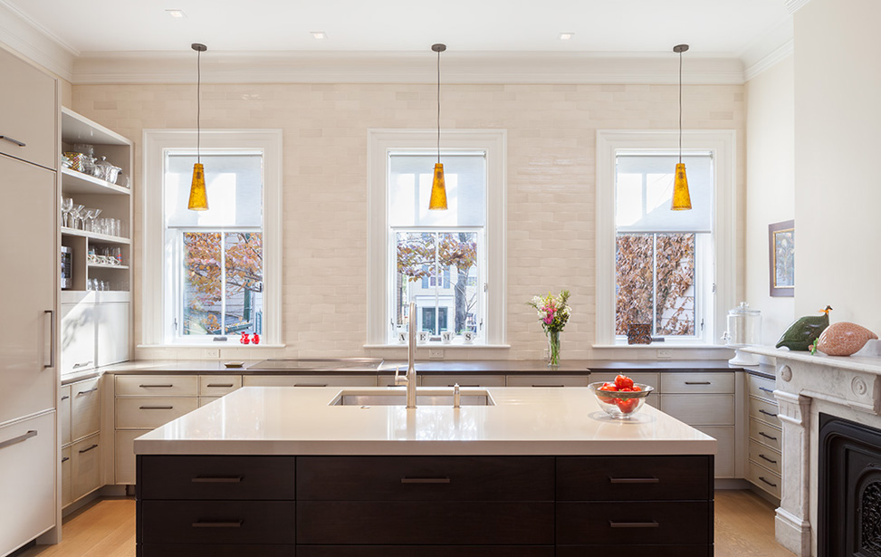 MF Reynolds Charlestown townhouse contemporary kitchen