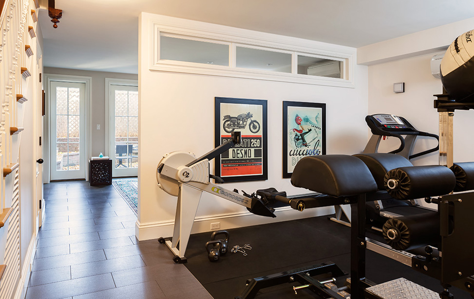MF Reynolds Charlestown fully renovated townhouse basement